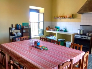 The Beehive Hostel Sucre Kitchen