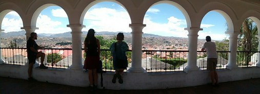 Taking in the view of Sucre!