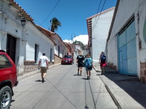 A quiet and relaxing Sunday in Sucre
